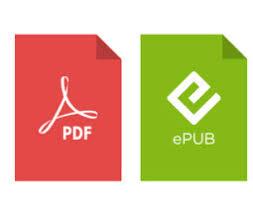 PDF and EPUB logos