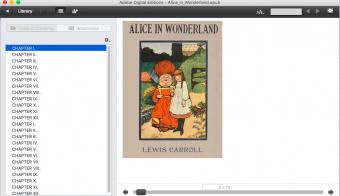 Cover of Alice in Wonderland in ADE